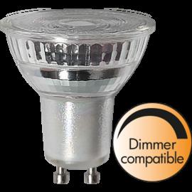 LED-Lampe GU10 MR16 Spotlight Glass Dim , hemmetshjarta.no