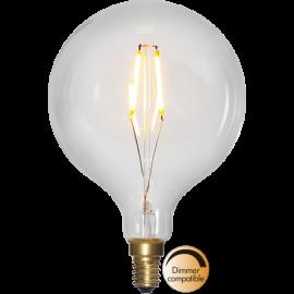 LED-Lampe E14 Soft Glow G95 Dim , hemmetshjarta.no