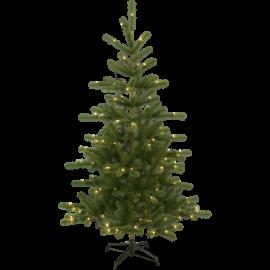 XX Juletre med LED Visby EL Utendørs Varm Hvit 120 Lys 106x180cm , hemmetshjarta.no