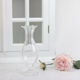Vase Glass Vouge 21cm , hemmetshjarta.no