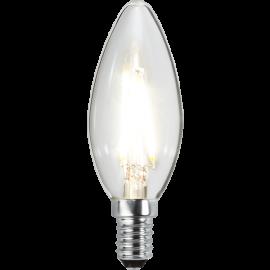 LED-Lampe E14 Ø35 lm270/26w Clear , hemmetshjarta.no