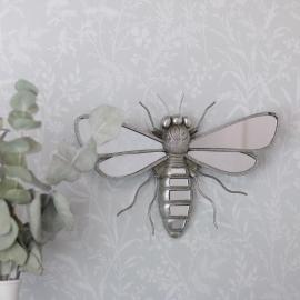 Speil / Insekt Sølv Poly 33x21x5cm , hemmetshjarta.no