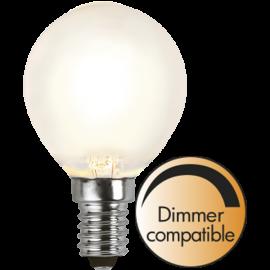 LED-Lampe E14 Ø45 Dim lm350/32w Frostet , hemmetshjarta.no