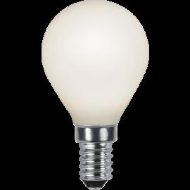 LED-Lampe E14 Ø45 lm470/40w Frostet , hemmetshjarta.no