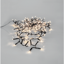 Lyslenke Utendørs EL Crispy Ice White Hvit 180 Lys 360cm , hemmetshjarta.no