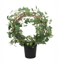 Kunstig Eføy Plante på bue 70 cm , hemmetshjarta.no