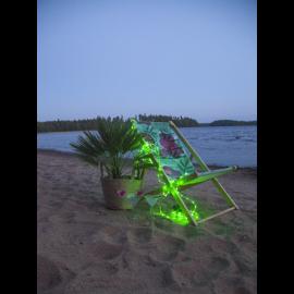 Lysslange Batteridrevet Tuby Utendørs Grønn 100 Lys 500cm , hemmetshjarta.no