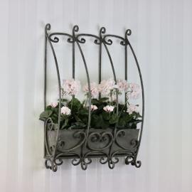 Blomsterkasse til Vegg 66x43 cm , hemmetshjarta.no