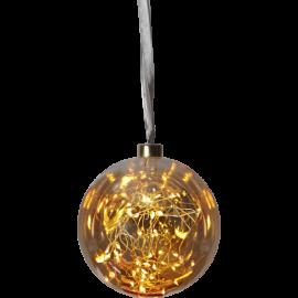 Glasskule Glow Amber 15-40 , hemmetshjarta.no