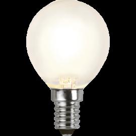 LED-Lampe E14 Ø45 lm450/39w Frostet , hemmetshjarta.no