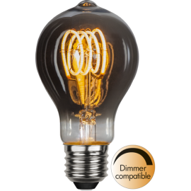 LED-Lampe E27 Decoled Spiral Smoke TA60 Dim , hemmetshjarta.no