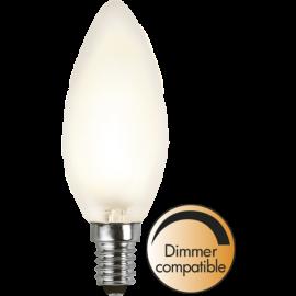 LED-Lampe E14 Ø35 Dim lm320/30w Frostet , hemmetshjarta.no