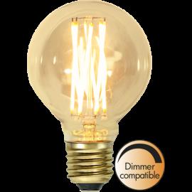 LED-Lampe E27 Vintage Gold G80 Dim , hemmetshjarta.no