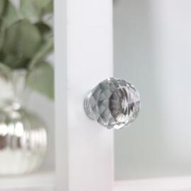 Knott Diamond rund topp 7,5x4 cm , hemmetshjarta.no