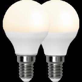LED-Lampe E14 Ø45 lm470/40w Frostet Basic 2-pakning , hemmetshjarta.no