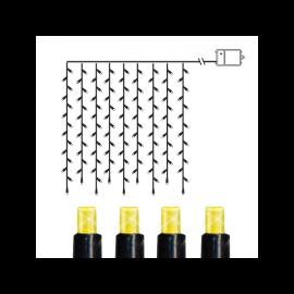 Lysgardin Utendørs Batteridrevet Dura String LED Varmhvit 120 Lys 110cm , hemmetshjarta.no