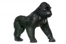 Gorilla Svart / Brun Poly 40x20x28cm , hemmetshjarta.no