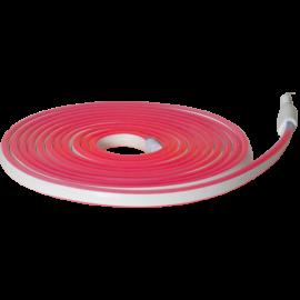 Lysslange FlatNeonLED Utendørs Rød 480 lys 500cm , hemmetshjarta.no