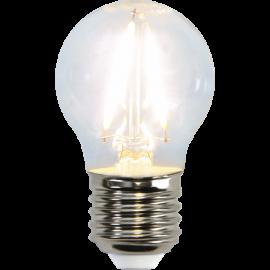 LED-Lampe E27 Ø45 lm150/16w Clear , hemmetshjarta.no
