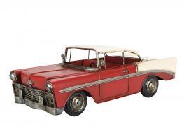 Dekorasjon bil Chevy Metall 28x12x10cm , hemmetshjarta.no