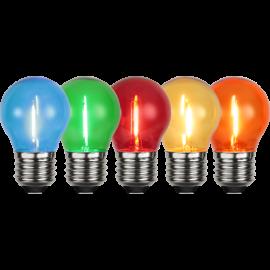LED-Lampe E27 5-pack Outdoor Lighting 5-pack , hemmetshjarta.no