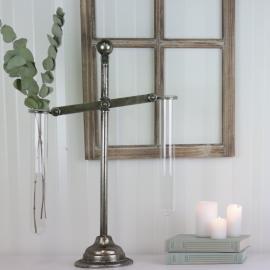 Vase prøverør - Antikk sølv , hemmetshjarta.no
