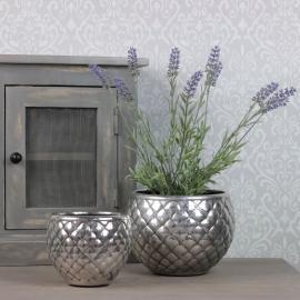 Krukke Luxury 2-pak antikk sølv , hemmetshjarta.no