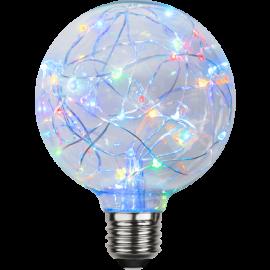 LED-Lampe E27 Decoled G95 , hemmetshjarta.no