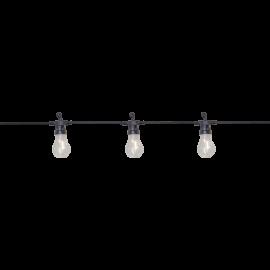 Lyslenke EL Circus Filament Utendørs Varm Hvit 10 Lys 405cm , hemmetshjarta.no