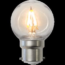 LED-Lampe B22 Outdoor Lighting G45 , hemmetshjarta.no