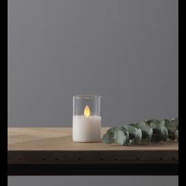 LED Blokklys M-Twinkle Gjennomsiktig 5x7,5 , hemmetshjarta.no