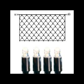 Utendørsdekorasjon System LED EL Lysnett Extra Kallvit 200 lys 200x100cm , hemmetshjarta.no
