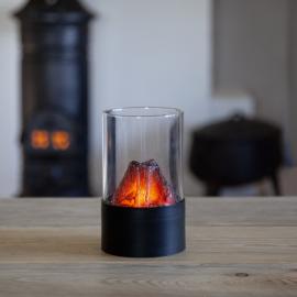 Lyslykt Fireplace , hemmetshjarta.no