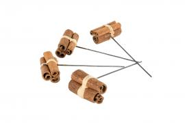 Kanelbunt / tråd 4 cm 5-pack , hemmetshjarta.no