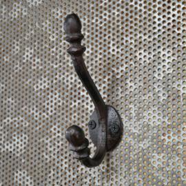 Veggkrok Støpejern 12 cm , hemmetshjarta.no