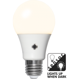 LED-Lampe E27 Sensor Ø60 lm1100/75w Frostet , hemmetshjarta.no