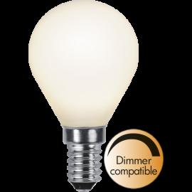 LED-Lampe E14 Ø45 Dim lm450/39w Frostet , hemmetshjarta.no