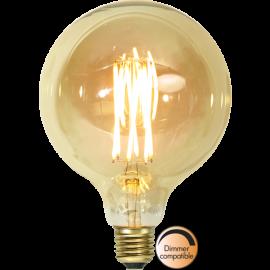 LED-Lampe E27 Vintage Gold G125 Dim , hemmetshjarta.no