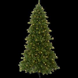 XX Juletre med LED Minnesota EL Utendørs Varm Hvit 280 Lys 130x210cm , hemmetshjarta.no