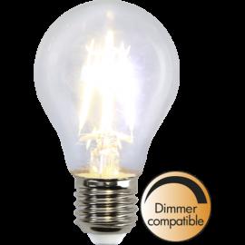 LED-Lampe E27 Ø60 lm400/35w Clear , hemmetshjarta.no