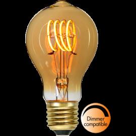 LED-Lampe E27 Decoled Spiral Amber TA60 Dim , hemmetshjarta.no