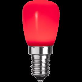 LED-Lampe E14 ST26 Outdoor Lighting ST26 Rød , hemmetshjarta.no