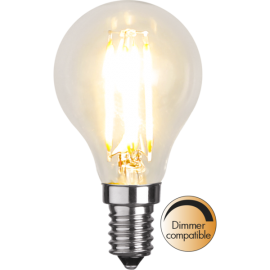 LED-Lampe E14 Ø45 Dim lm420/37w Clear , hemmetshjarta.no