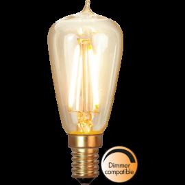 LED-Lampe E14 Soft Glow ST38 Dim , hemmetshjarta.no