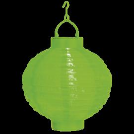 Solcelle Papirlykt Festival - grønn , hemmetshjarta.no