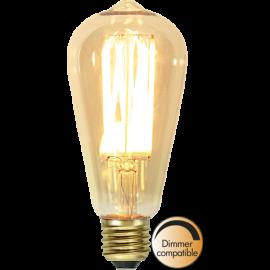 LED-Lampe E27 Vintage Gold ST64 Dim , hemmetshjarta.no