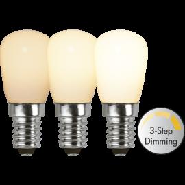 LED-Lampe E14 Ø26 Dim 3-step lm150/16w Frostet , hemmetshjarta.no