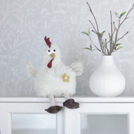 Høne Agda 23 cm , hemmetshjarta.no