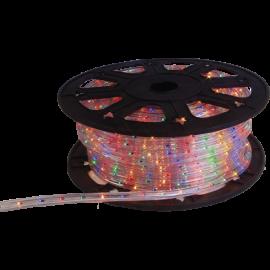 Lysslange Ropelight Micro Reel Utendørs Multi 1620 lys 4500cm , hemmetshjarta.no