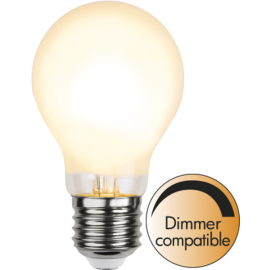 LED-Lampe E27 Ø60 Dim lm810/60w Frostet , hemmetshjarta.no